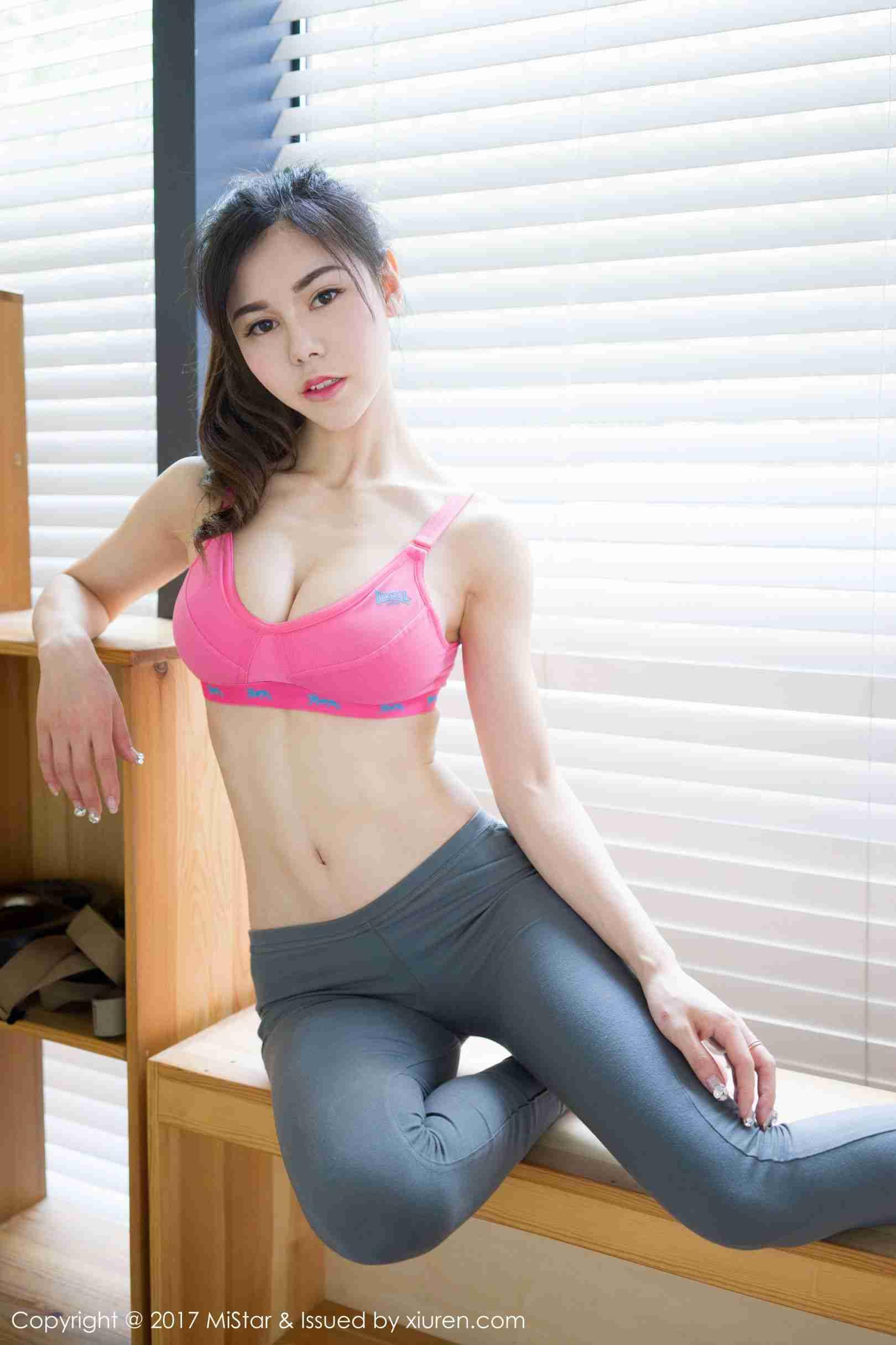 沈佳熹 - 健身房运动装系列