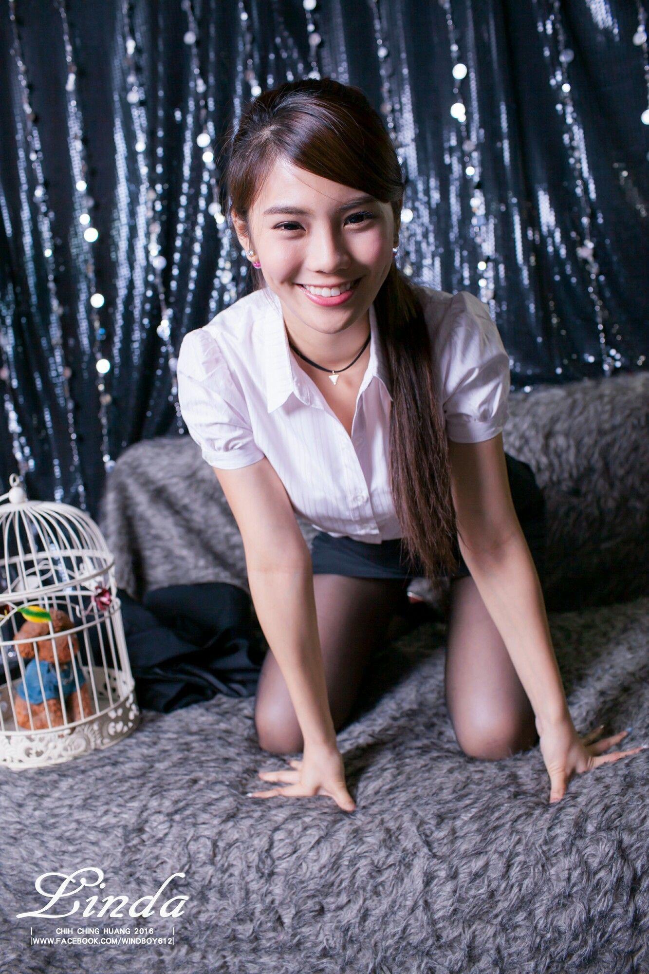 [台湾女神] 林羿祯琳妲  黑丝OL 写真图片
