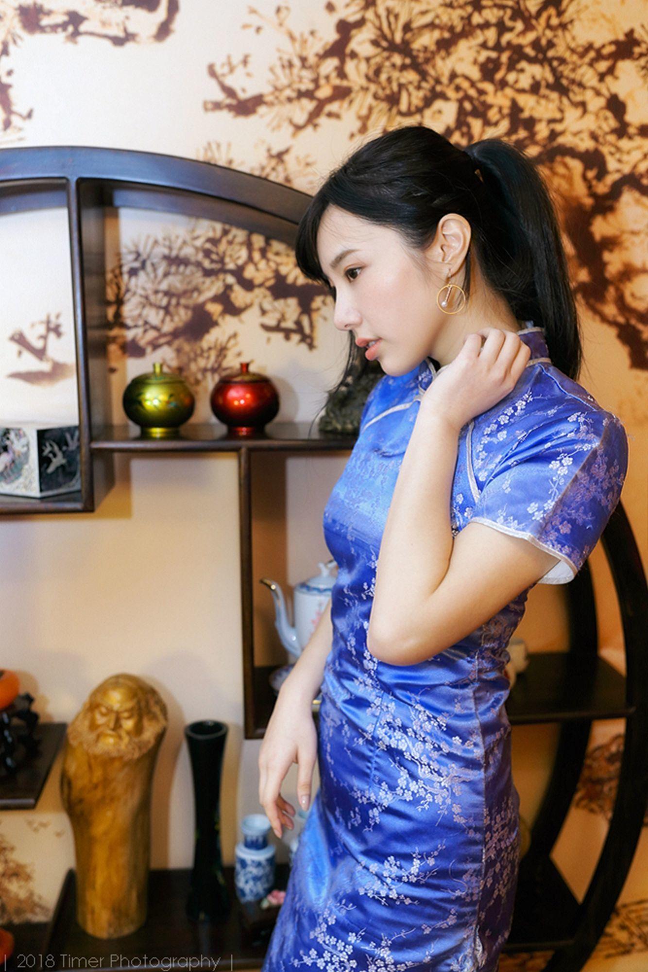 模特Zora - 贺喜新春时尚旗袍