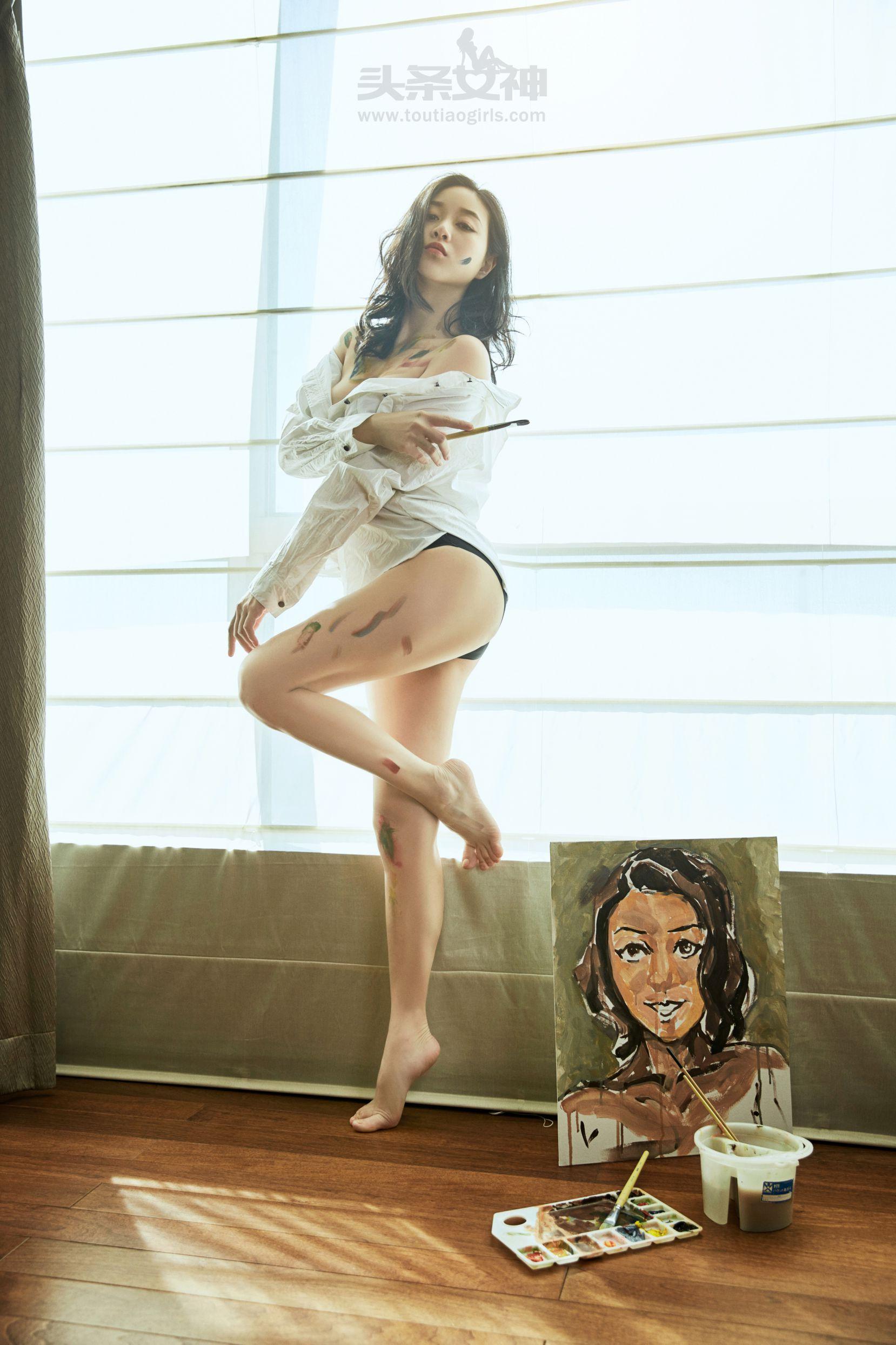 张梓然 - 画中的维纳斯 写真图片