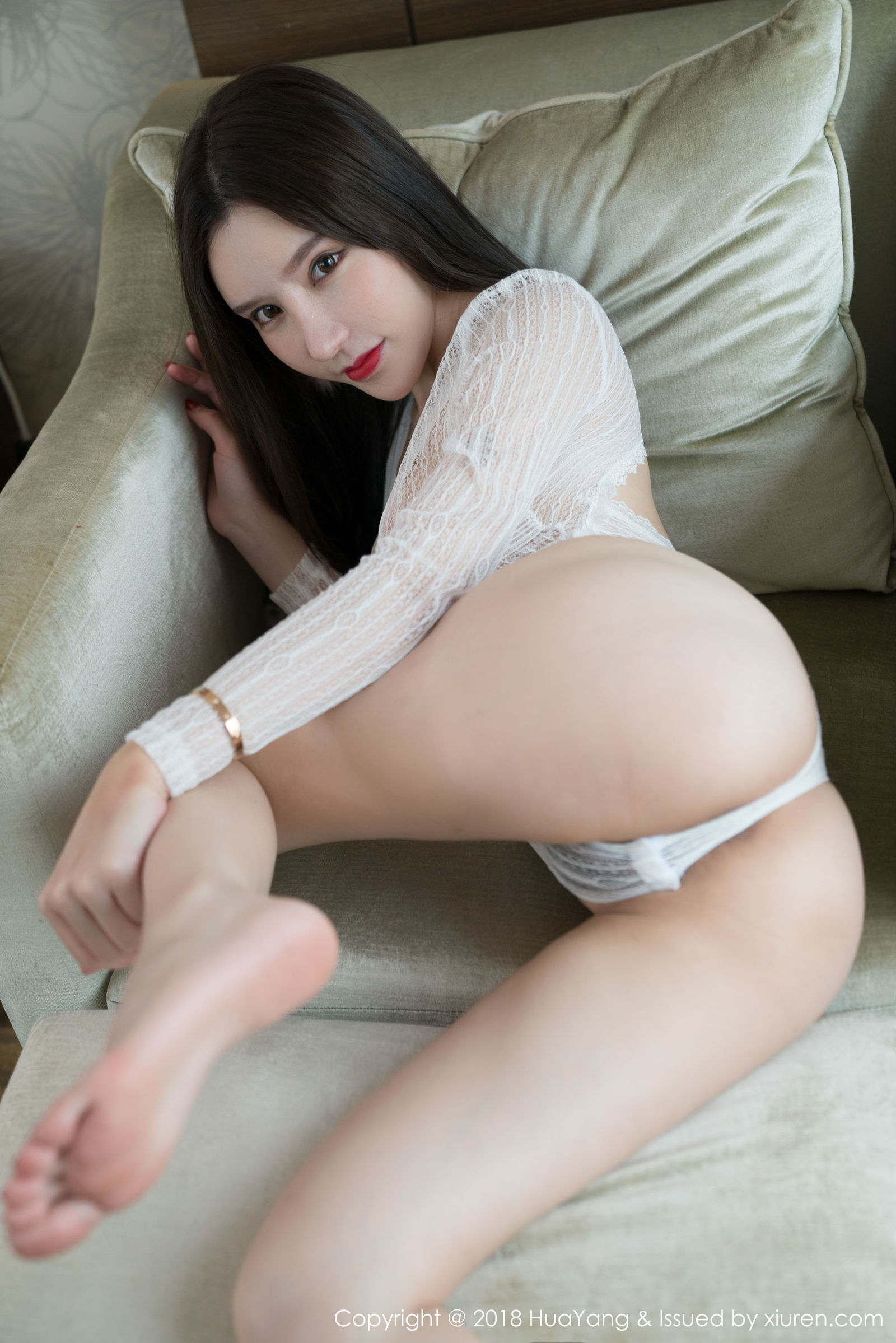 女神@周于希魅惑黑丝写真