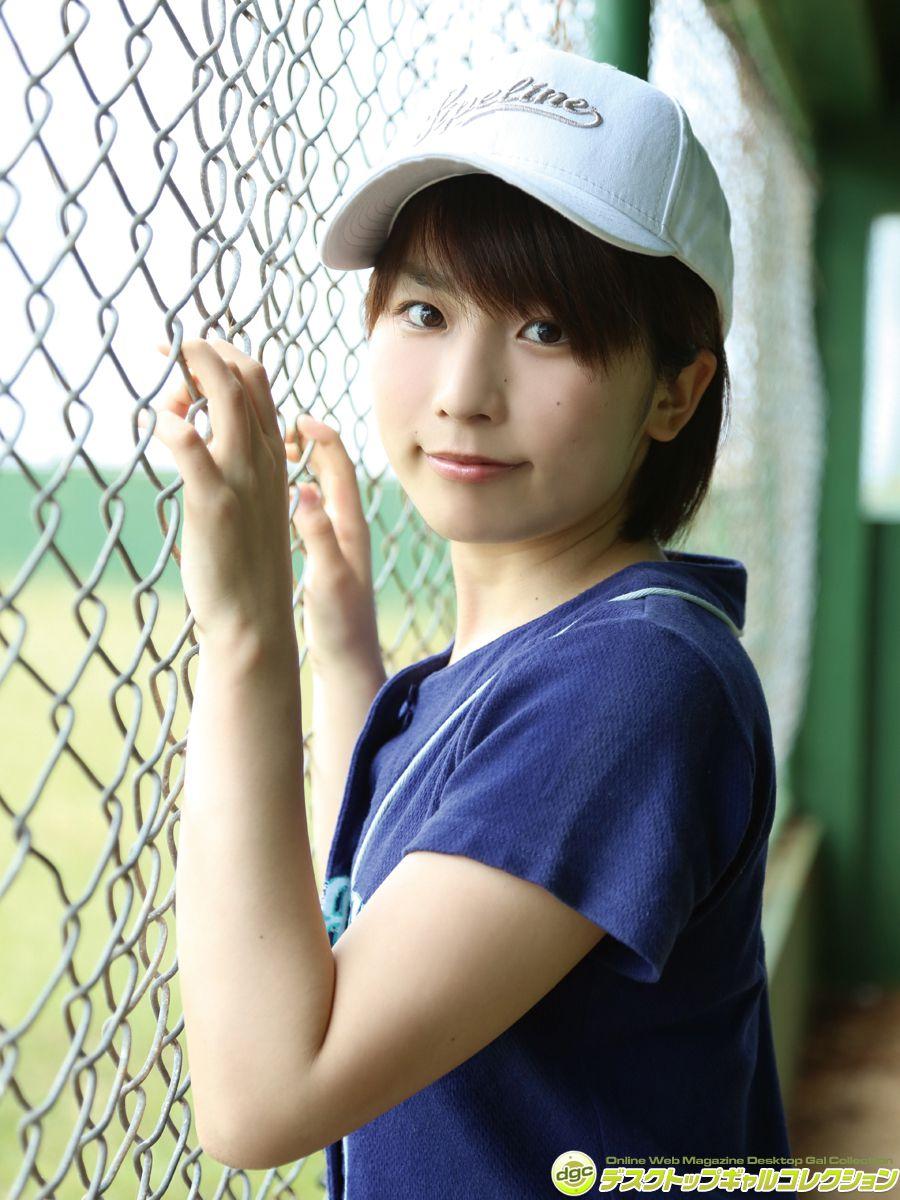 楠本美紗 - ショートカットが似合う清純派快活少女!!