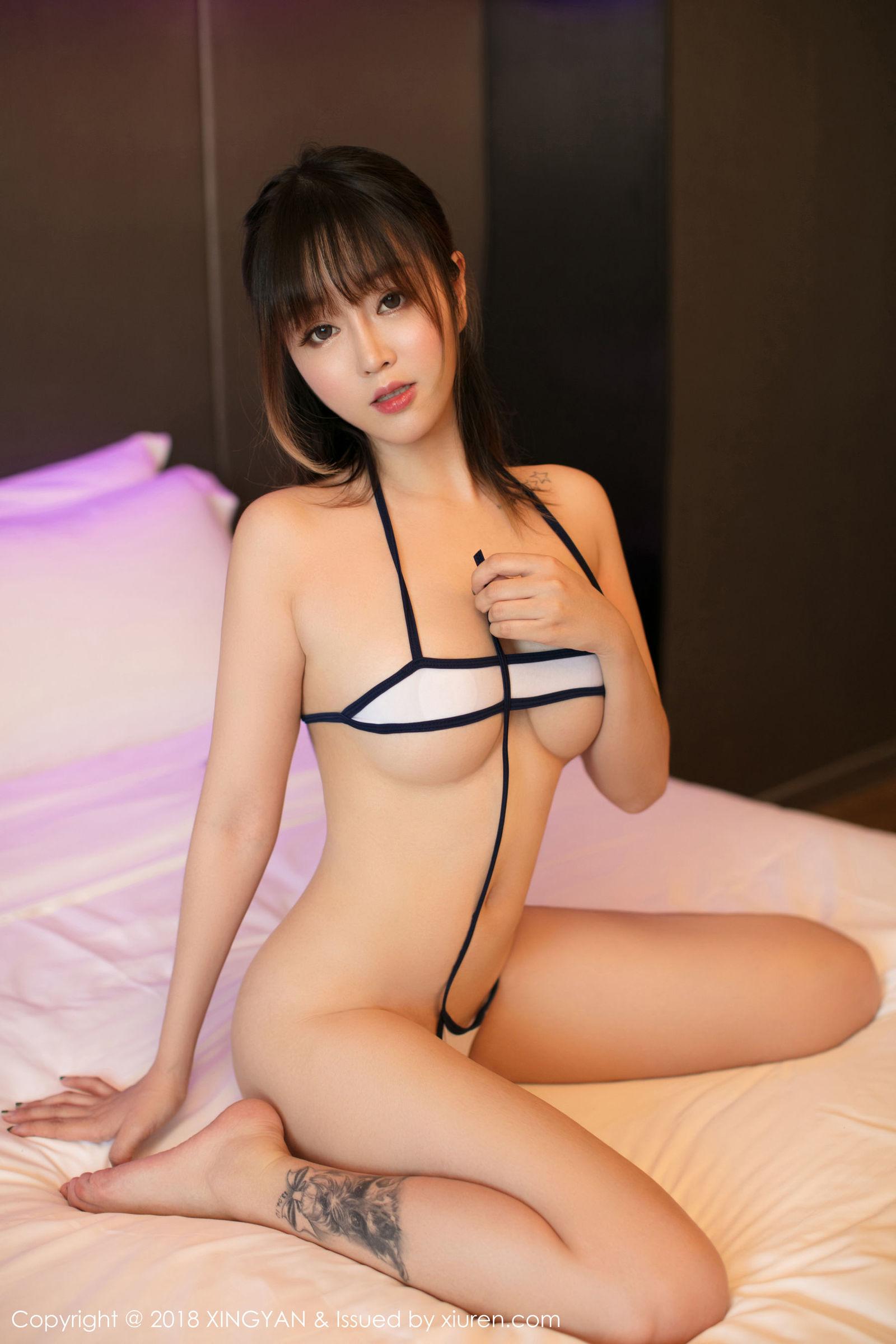 性感女神@王雨 纯蕾第二套写真