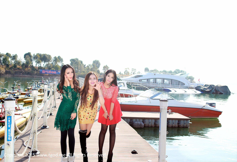 夏静jolie+鲁思羽+胡宴绮-《女神驾到》之嘉鱼山湖温泉