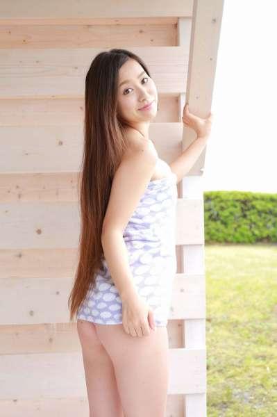 美咲姫 Hime Misaki 浴巾裹胸