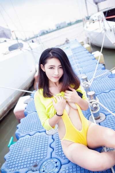 夏茉GIGI - 广州外拍写真套图02