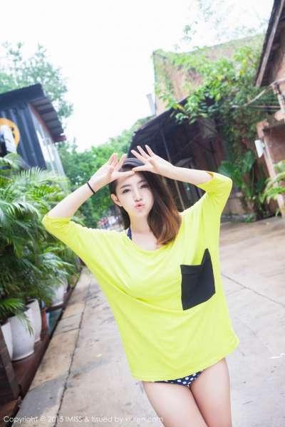 夏茉GIGI - 清凉比基尼街拍系列写真