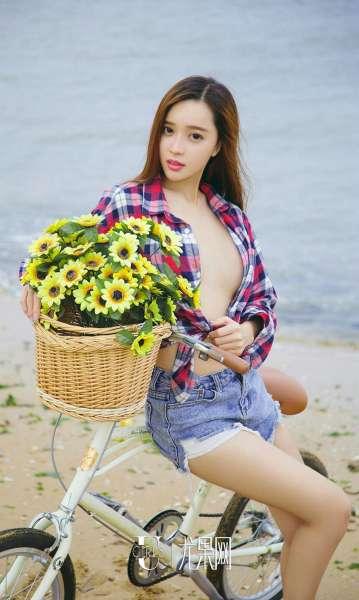 性感美女艾小青~海上花