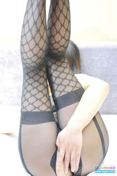 情趣黑色连体网衣~写真套图