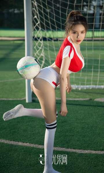 看球啦! 性感美女写真套图